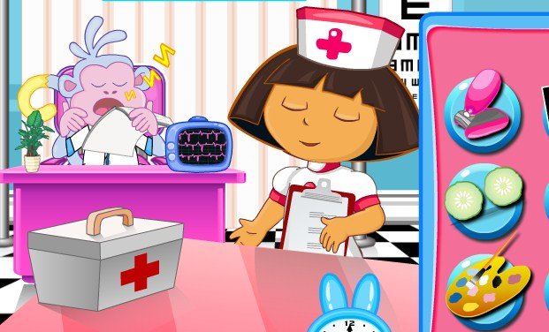 Dora Nurse Slacking