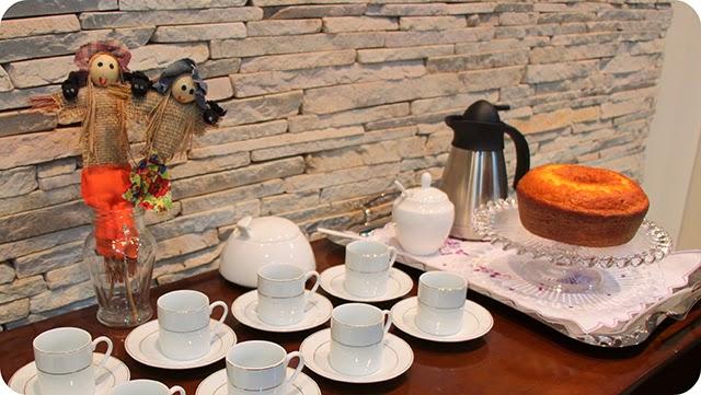 Cantinho do café Jantar Caipira - Junino