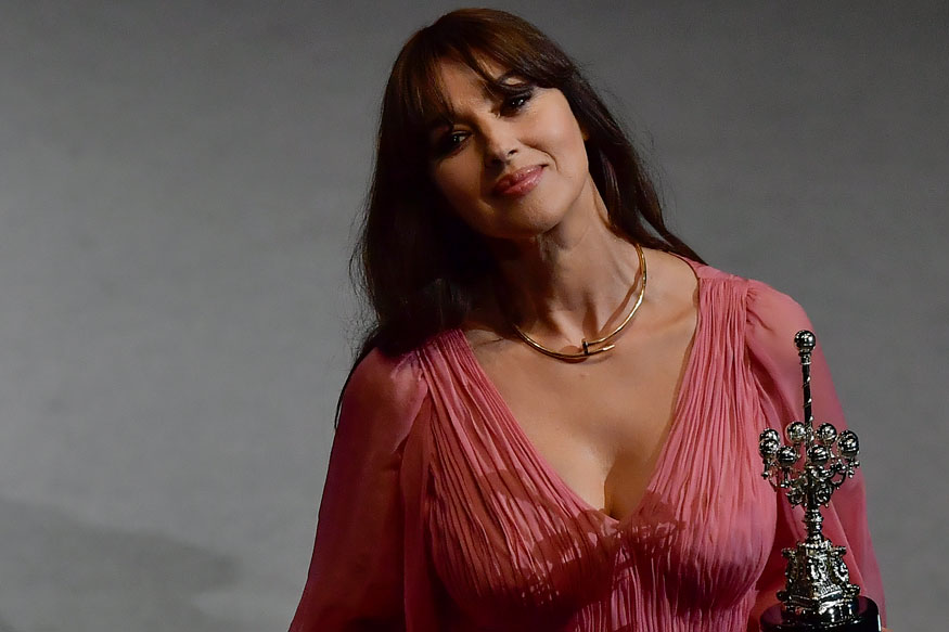 Monica Bellucci at 65th San Sebastian Film Festival Photo Gallery