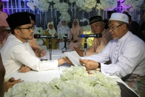Shaheizy Sam dan Syatilla Melvin sah suami isteri