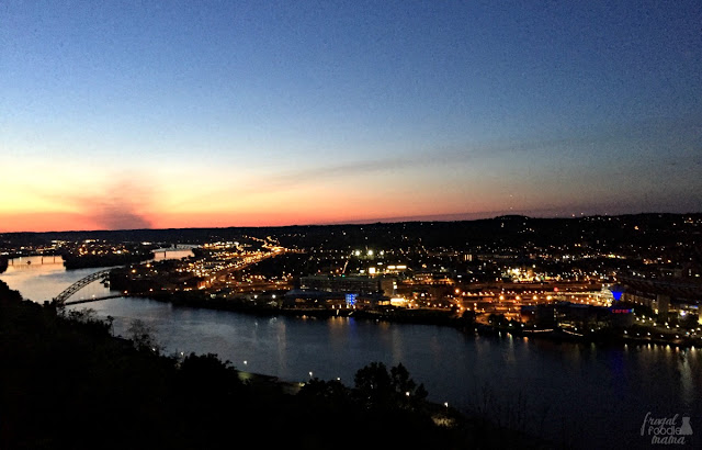The perfect way to end your foodie tour of the Burgh is to catch a ride on the Duquesne Incline up to Mount Washington to catch the sunset as it dips below the city skyline.