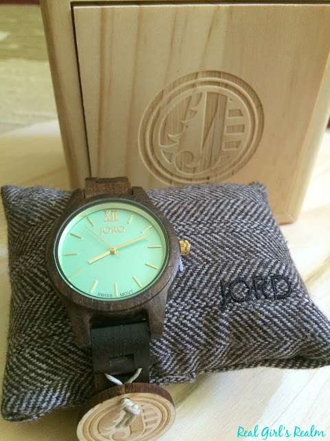 This unique wood watch by JORD goes with every outfit