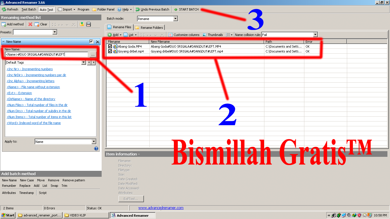 Bismillah Gratis™