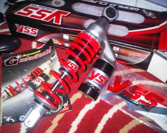 Harga Shockbreaker YSS Motor Racing Terbaru 2017