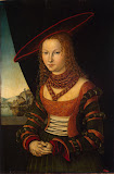 Portrait of a Woman by Lucas Cranach - Portrait Paintings from Hermitage Museum