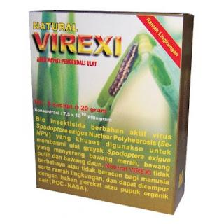 """""""pestisida alami organik natural virexi pengendali hama ulat grayak natural nusantara distributor nasa"""""""