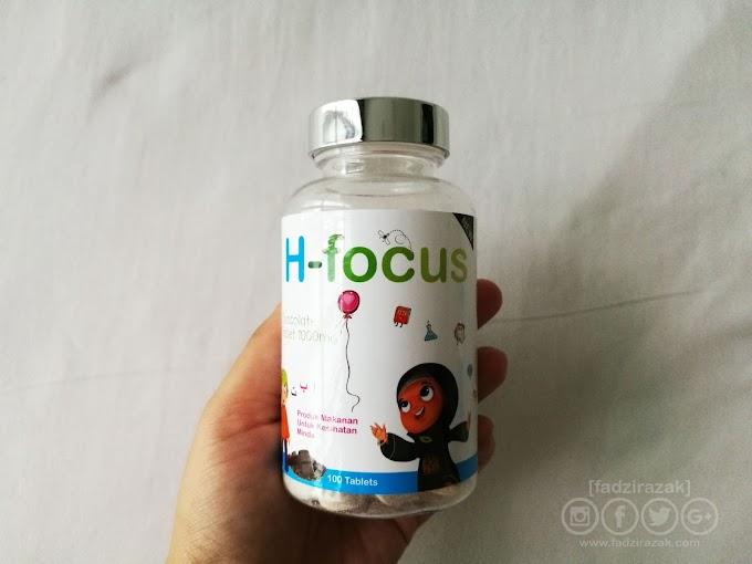 H-Focus Suplemen Minda Dan Mata Untuk Anak