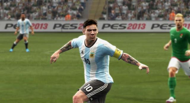 PES 2013 Argentina Kit Copa America Centenario 2016
