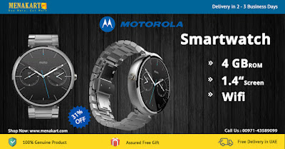 Motorola Moto 360 Smart Watch - Silver