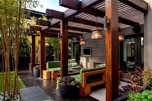 Contoh Ruang Tamu Berada Di Teras Depan Rumah  Desain Rumah