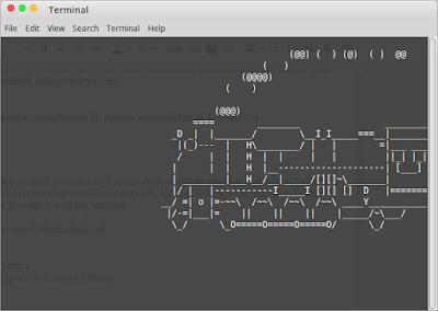Command sl Terminal Linux Menampilkan Gerbong Kereta Api
