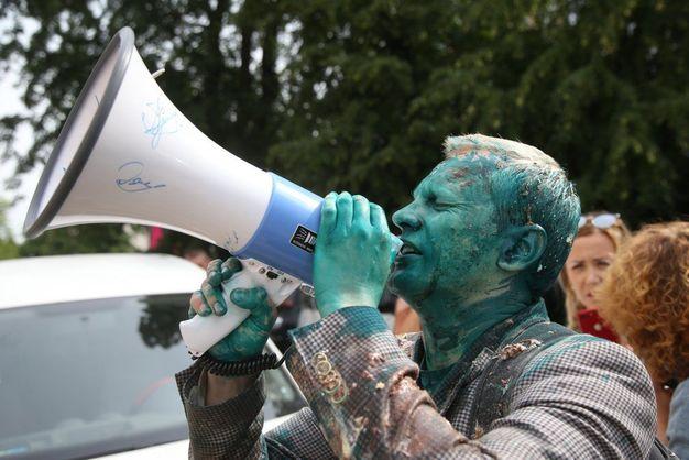 Негативна тенденція. У Transparency International зробили заяву після нападу із зеленкою на Шабуніна