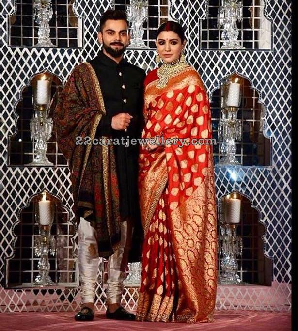 Virat Kohli Anushka Wedding Reception