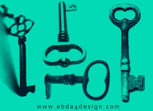 تحميل فرش مفاتيح قديمة للفوتوشوب مجاناً, Photoshop Brushs free Download, Old keys Photoshop Brushs free Download