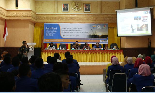 SKK Migas Sosialisasi BPMA di Aceh Barat