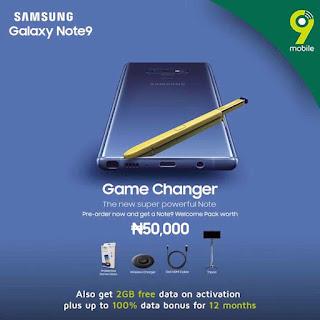 Pre-Order Samsung Galaxy Note 9