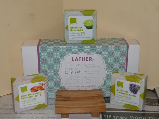 LATHER With Lavender Gift Set ~ Review