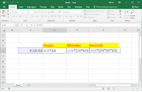 MS Excel : How to Convert Time into Hours, Minutes & Seconds, time convert in ms excel, convert hour into minutes & seconds, convert hours to seconds, convert hours to minutes, how to convert time into hours minutes & seconds, excel 2007, excel 2010, excel 2016, Microsoft Excel, Excel tips & tricks, 2018 tips, time converter, date converter, time hours minute seconds formula, excel formula, convert 24 hours into 12 hours, 12 hours to 24 hours time converter,