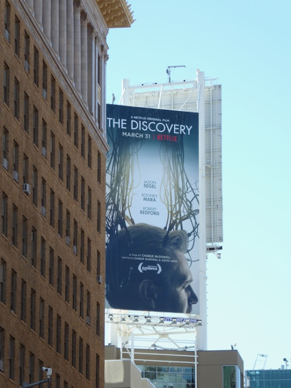 Discovery Netflix movie billboard