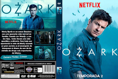 CARATULA [SERIE TV] OZARK - TEMPORADA 2 - [2018] [COVER DVD]