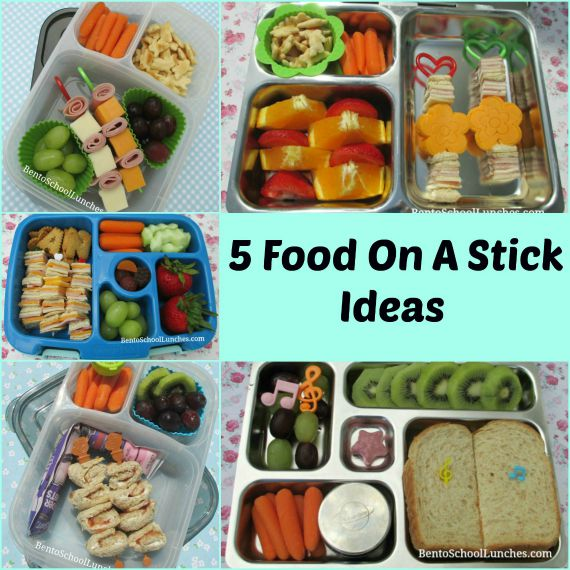 5 Food On A Stick Ideas For Lunch