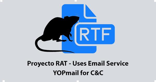 """قراصنة يهاجمون المؤسسات المالية والمنظمات الحكومية باستخدام """"Proyecto RAT"""""""