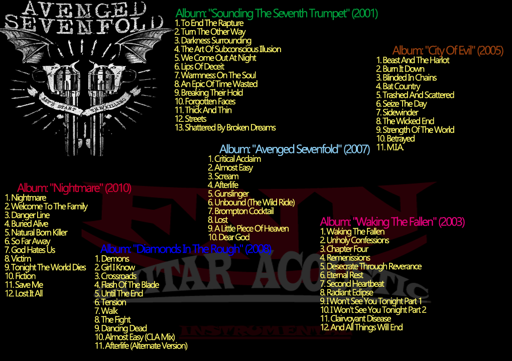 Falich Nada: Avenged sevenfold All Song Mp3