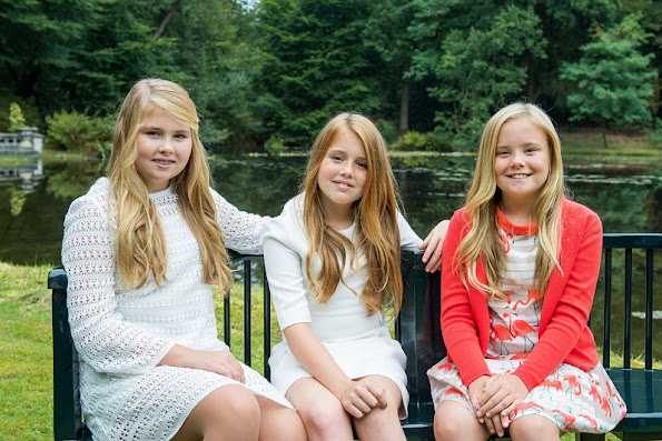 Catharina-Amalia, Princess of Orange, Princess Alexia of the Netherlands, Princess of Orange-Nassau, Princess Ariane of the Netherlands, Princess of Orange-Nassau