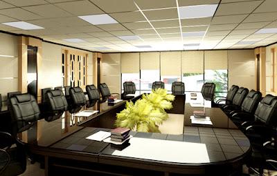 Thiết kế nội thất phòng họp sang trọng