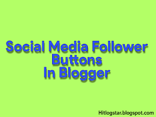 Social Media Follower Buttons- Edited Image