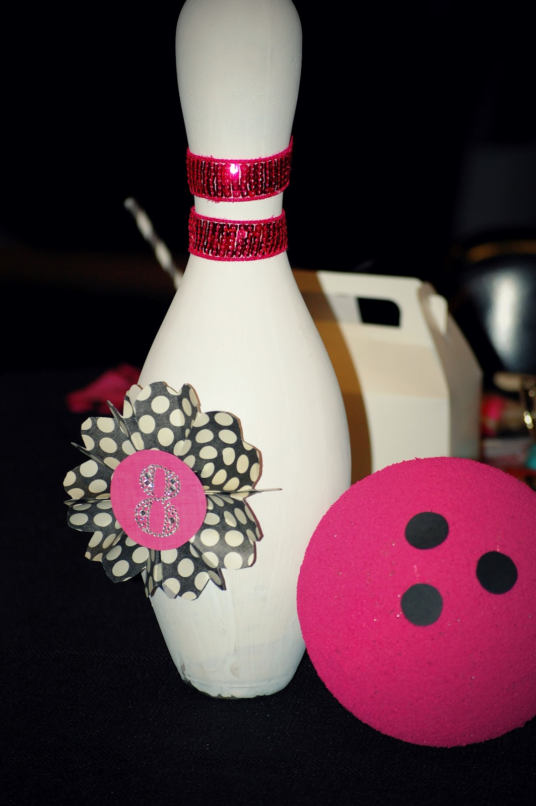 Pink Dot Polka Balloons