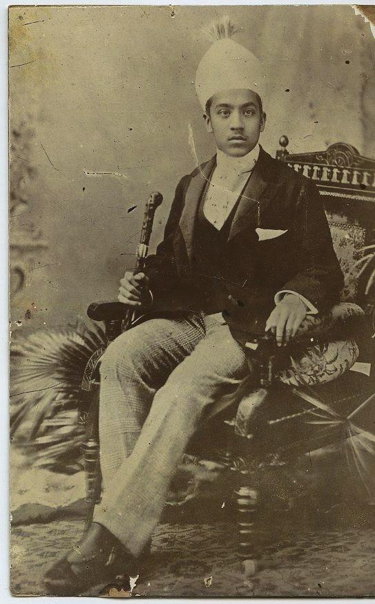 Nizam of Hyderabad Osman Ali Khan, Asaf Jah VII - c1900's