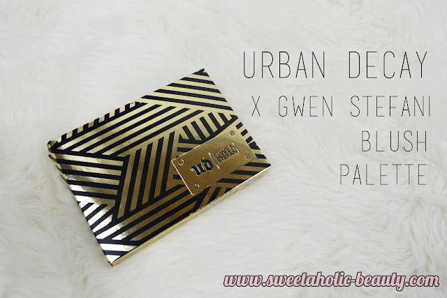 Urban Decay x Gwen Stefani Blush Palette Review & Swatches - Sweetaholic Beauty