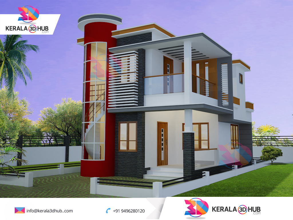 3d Elevation Of House Pictures And Home Design