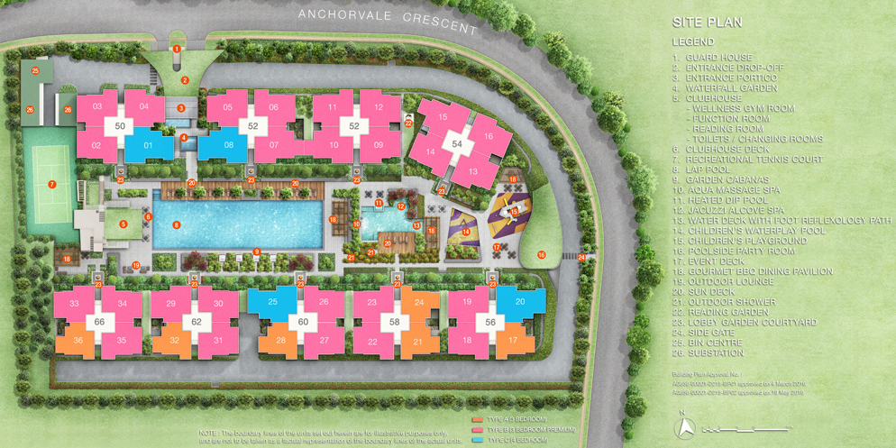 Treasure Crest EC Site Plan