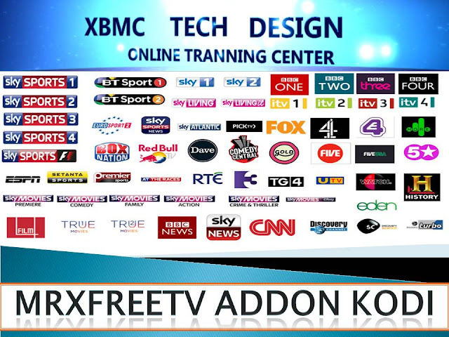 Download IPTV MRXFREETV Addon Repository for Kodi and Xbmc