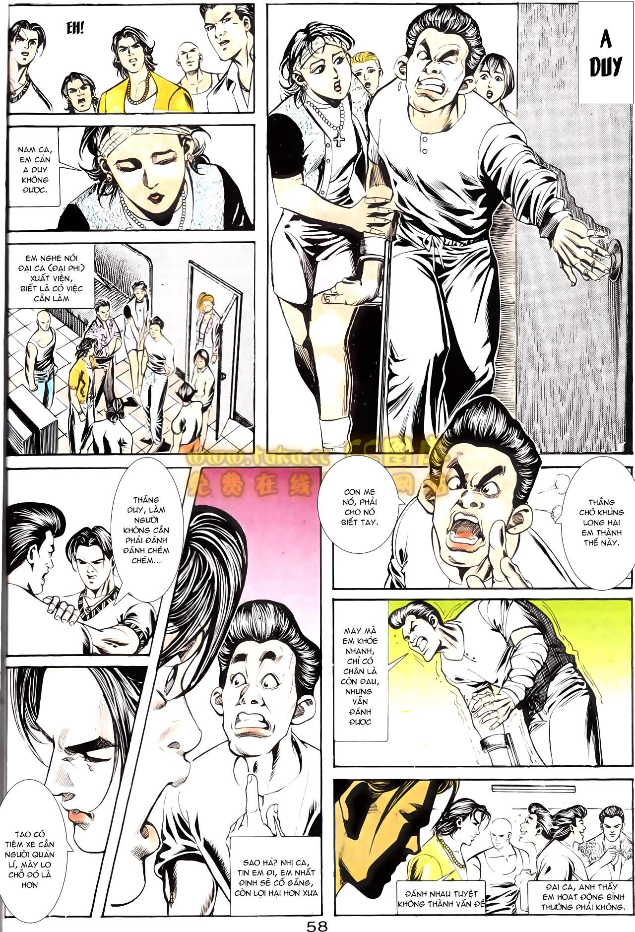 Người Trong Giang Hồ chapter 164: hạo nam chiến quạ đen trang 28