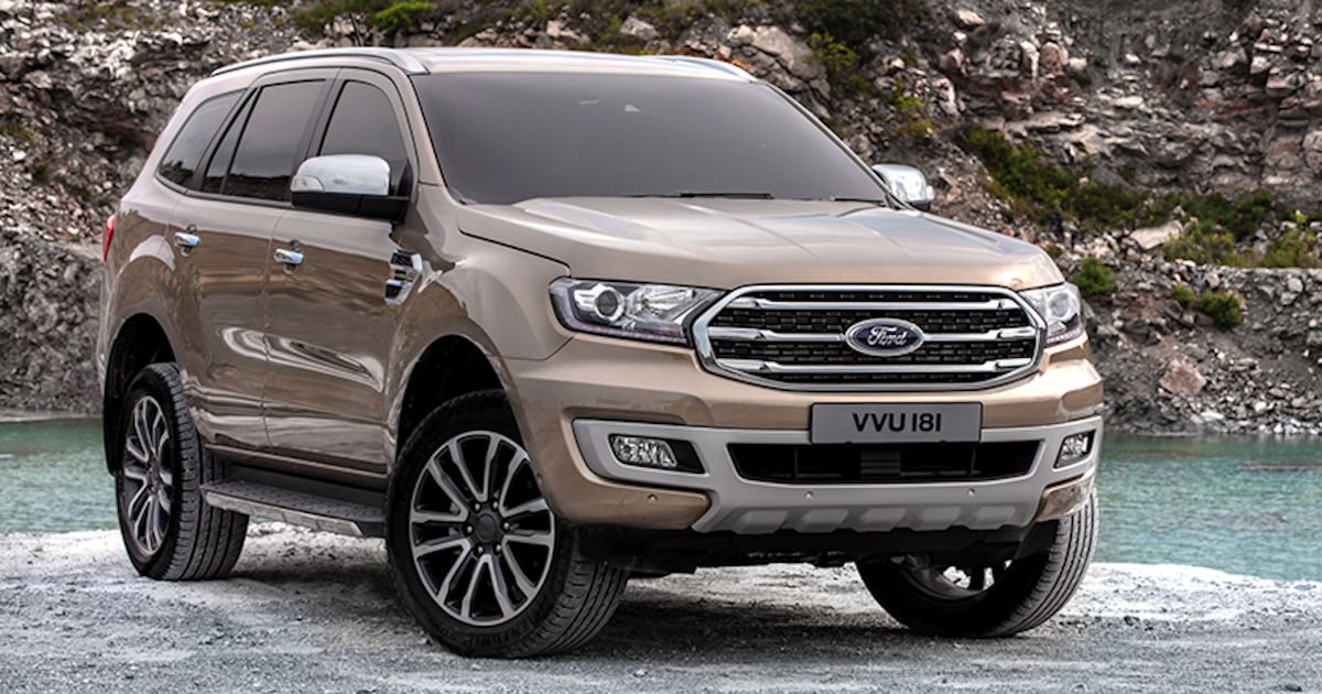 Thailand Launches 2019 Ford Everest with Raptor Power, Added Features (w/ 11 Photos ...