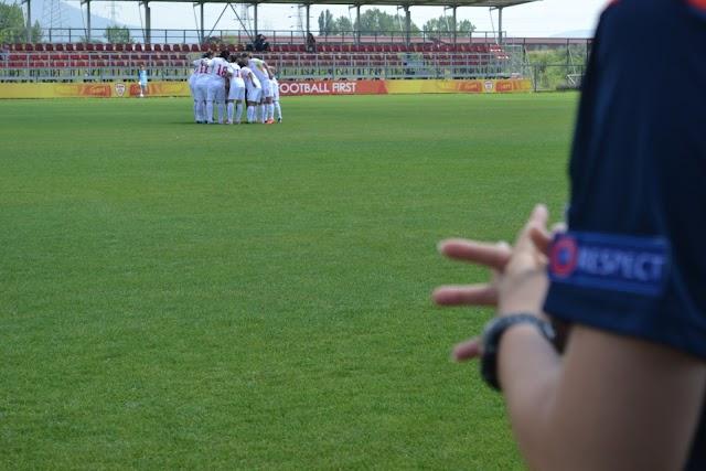 Fußball: UEFA Development Tournament für Mädchen in Skopje