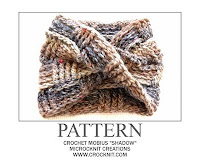 how to crochet, crochet patterns, mobius scarf, cowl,