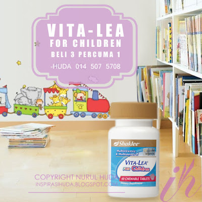 Promosi Shaklee November 2015 Vita-Lea for Children