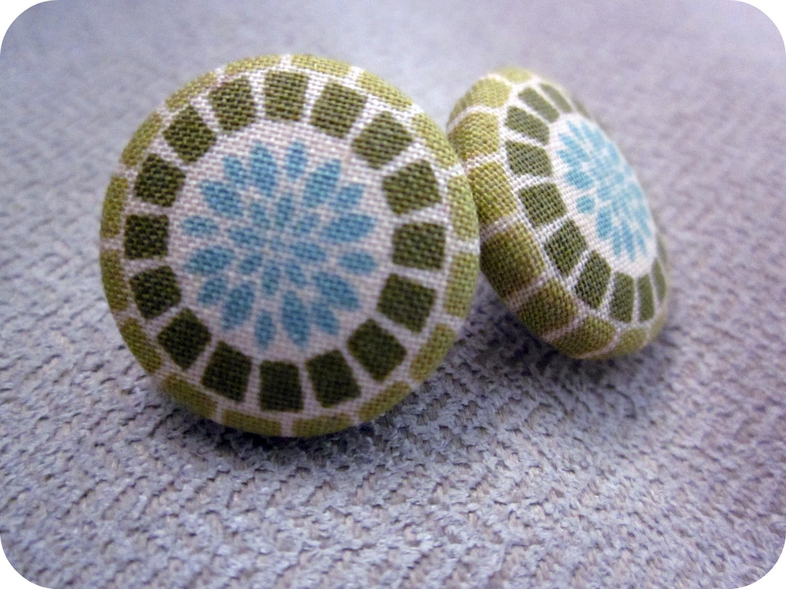 TristinandCompany: Cute-as-a-button DIY Earrings