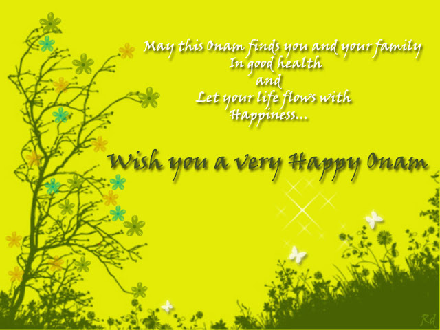 Happy Onam Wishes Messages In English