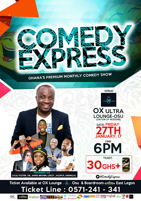 DKB Moves Comedy Express To Ox Ultra Lounge-Osu To Favour Workers