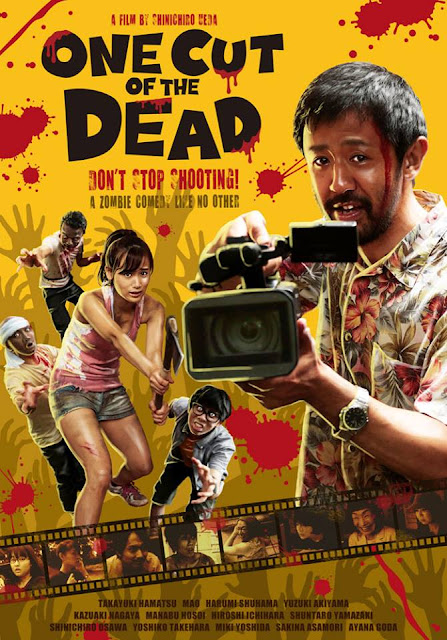 One Cut of the Dead 2018 horror comedy movie poster