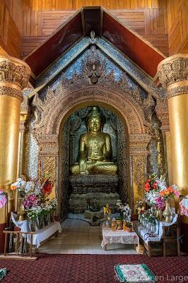 Monastère de Tharkhaung - Lac Sankar - Birmanie Myanmar