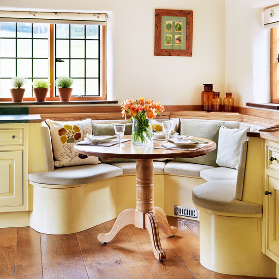 Kitchen Nooks: Home Kraft: COZY BREAKFAST NOOKS