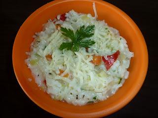 Orez (risotto) cu legume pentru prichindei