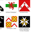 Making Flags for my Wars of the Roses Lancastrians.