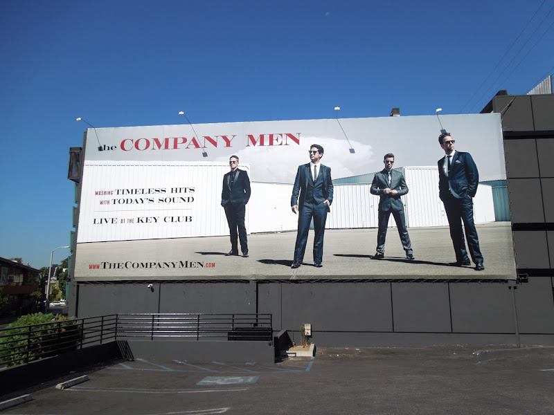 Company Men Key Club billboard